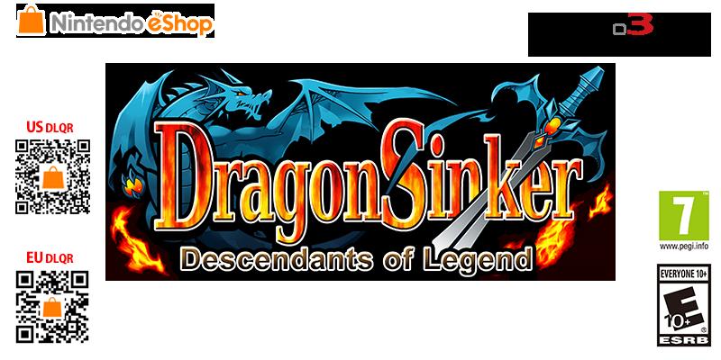 Dragon Sinker  Descendants Of Legend  | 3DS